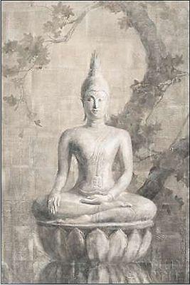 Danhui Nai: Buddha Neutral Keilrahmen-Bild Leinwand Zen Feng Shui Asia Style