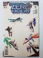 Zero Hour DC Comic Issue 1 Crisis in Time September 1994