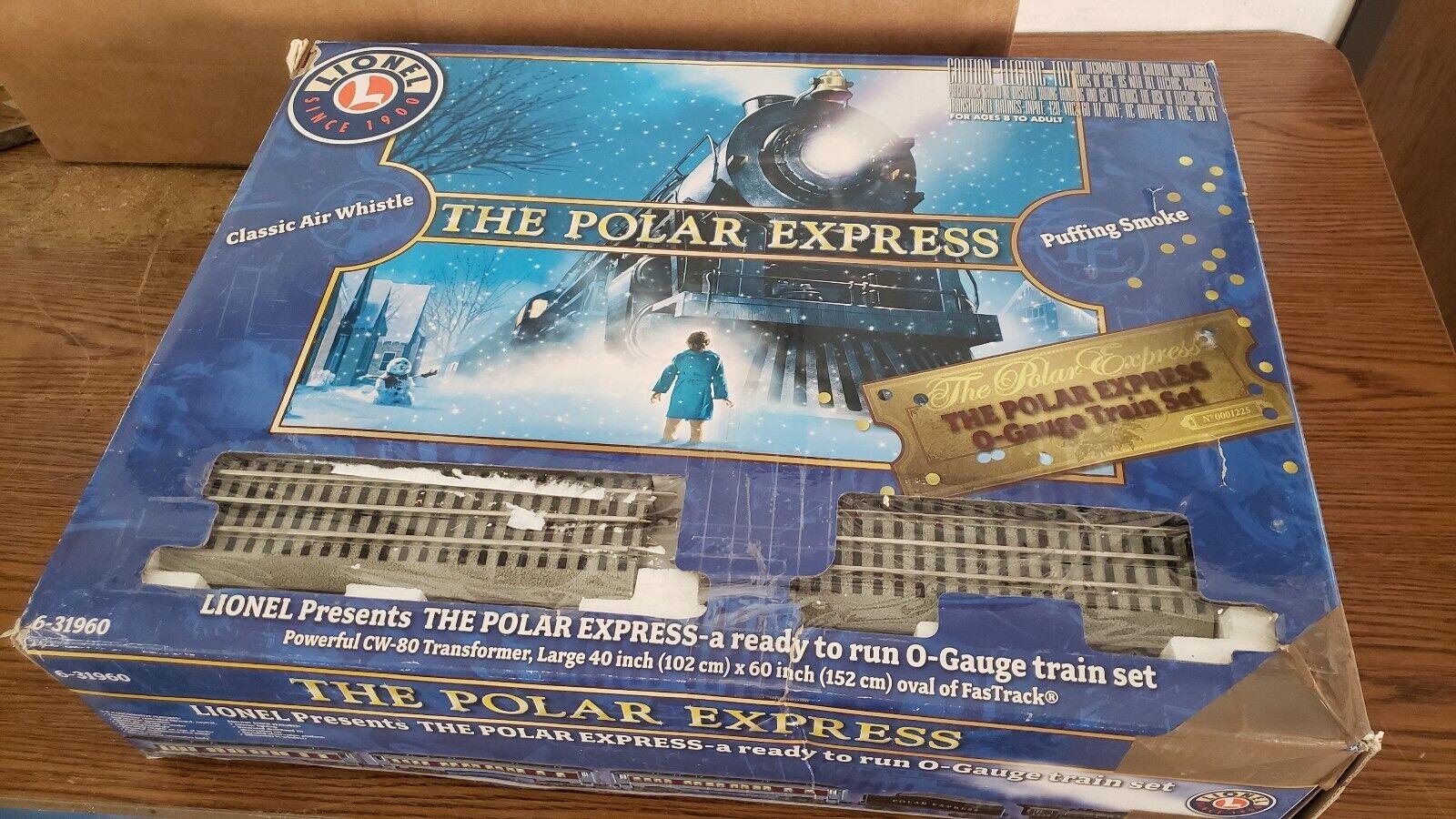 Lionel 631960 il Polar Express o Gauge TRENINO