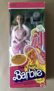 BARBIE 1981 PINK & PRETTY  EXTRA SPECIAL ! MADE IN PHILIPPINES NRFB
