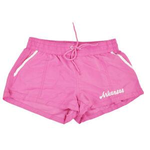 6241969e8d3 La imagen se está cargando Arkansas-Rosa-Mujer-Shorts-Bano -Cintura-Elastica-Elastico-