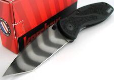 Kershaw USA Blur Tiger Stripe Tanto AssistedOpening Knife 1670tts Bdz1