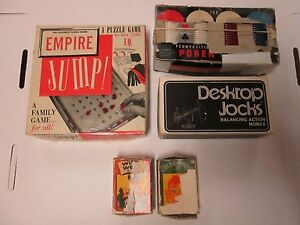 Vintage Toys/Games Lot of 5 Pieces, Poker Chips, Empire