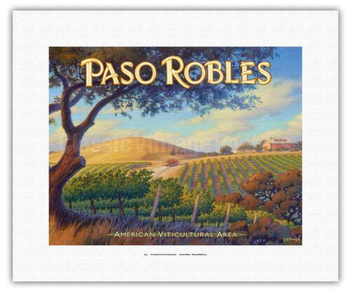 California Wine Country Fine Art Print Kerne Erickson Paso Robles Wineries