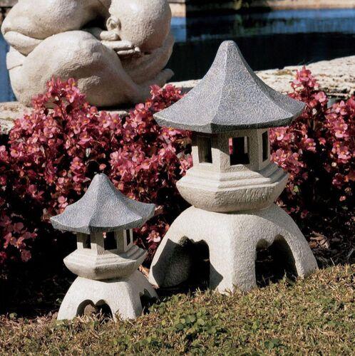 Large Pagoda Lantern Garden Statue Home Outdoor Asian Sculpture Lawn Decor New