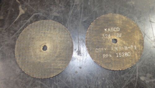 "Kasco Cut Off Wheels 4/"" x 1//8/"" x 3//8/"" QTY 30 907789"