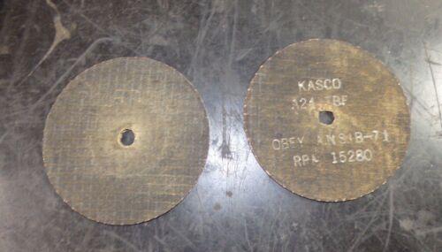 """Kasco Cut Off Wheels 4/"""" x 1//8/"""" x 3//8/"""" QTY 30 907789"""