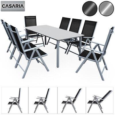 Camping Sitzgruppe Garten Sitzgruppe Tisch und Stuhl Set Gartengarnitur Alu