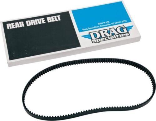 "Rear Drive Belt 1-1//8/"" 128 Tooth for Harley Sportster Custom 1200C XL 91-03"