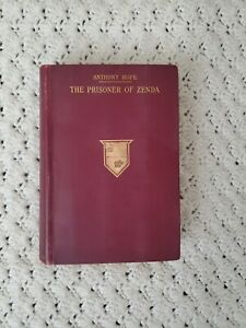 The-Prisoner-of-Zenda-by-Anthony-Hope-1st-US-Edition-1898-Antique