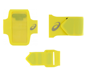 niskie ceny Stany Zjednoczone całkiem miło Details about New Asics MP3 ARMBAND Tube / compatible with Iphone 6/ 7 /8/  yellow/unisex/run