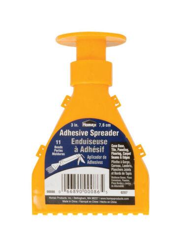 W Plastic Homax  Adhesive Spreader  3 in