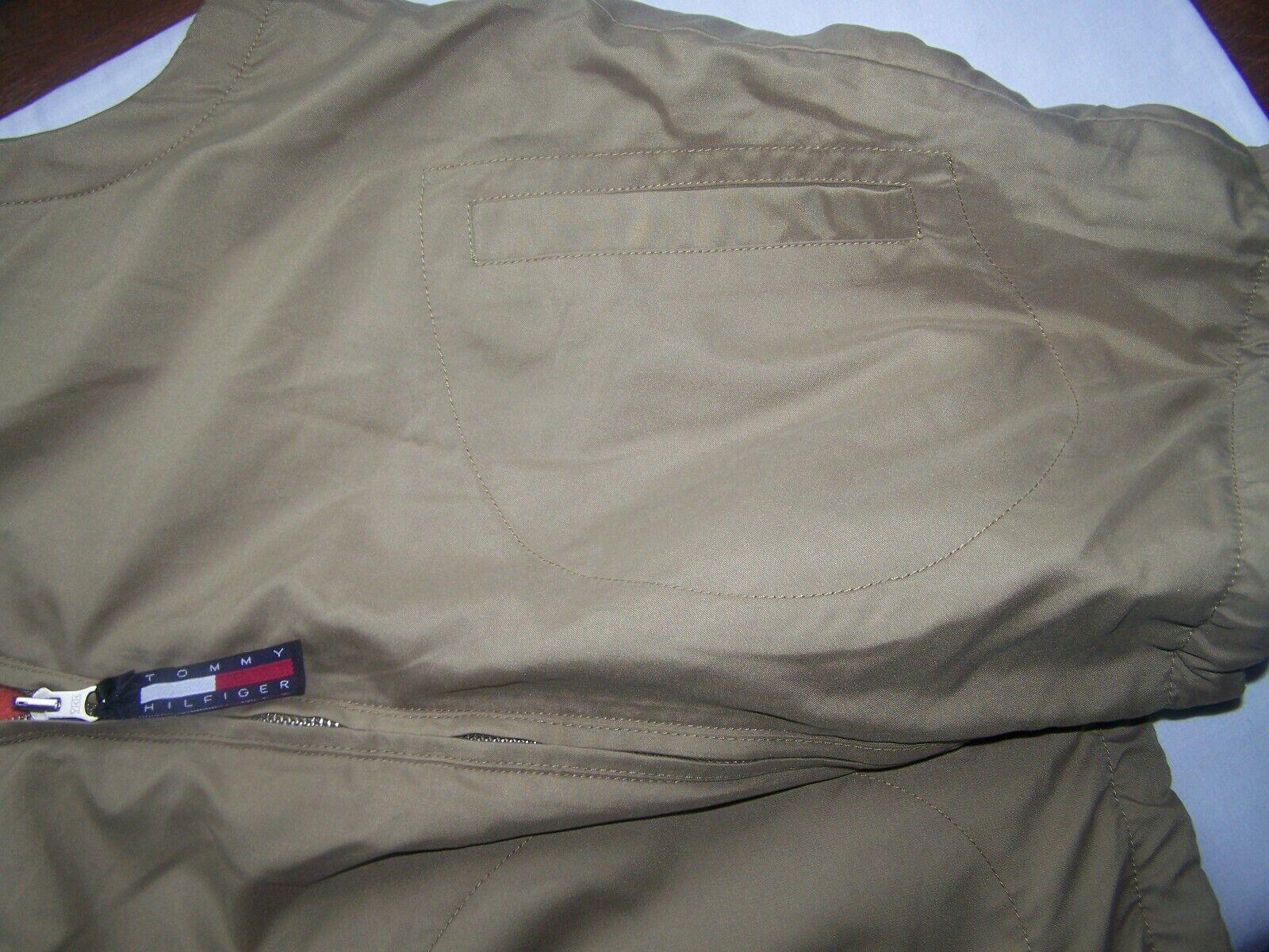 Tommy Hilfiger Vest Reversible Large Orange - image 7