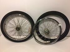 "Pair of 20"" BMX Bicycle Wheels & Tires Diamondback Rims Cheng Shin Tires 278"