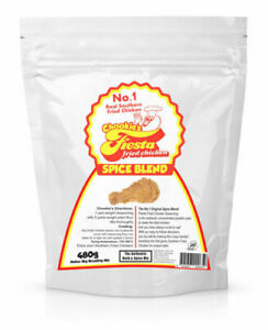 Chookie's Fiesta Concentrated Fried Chicken Spice Blend - 980g