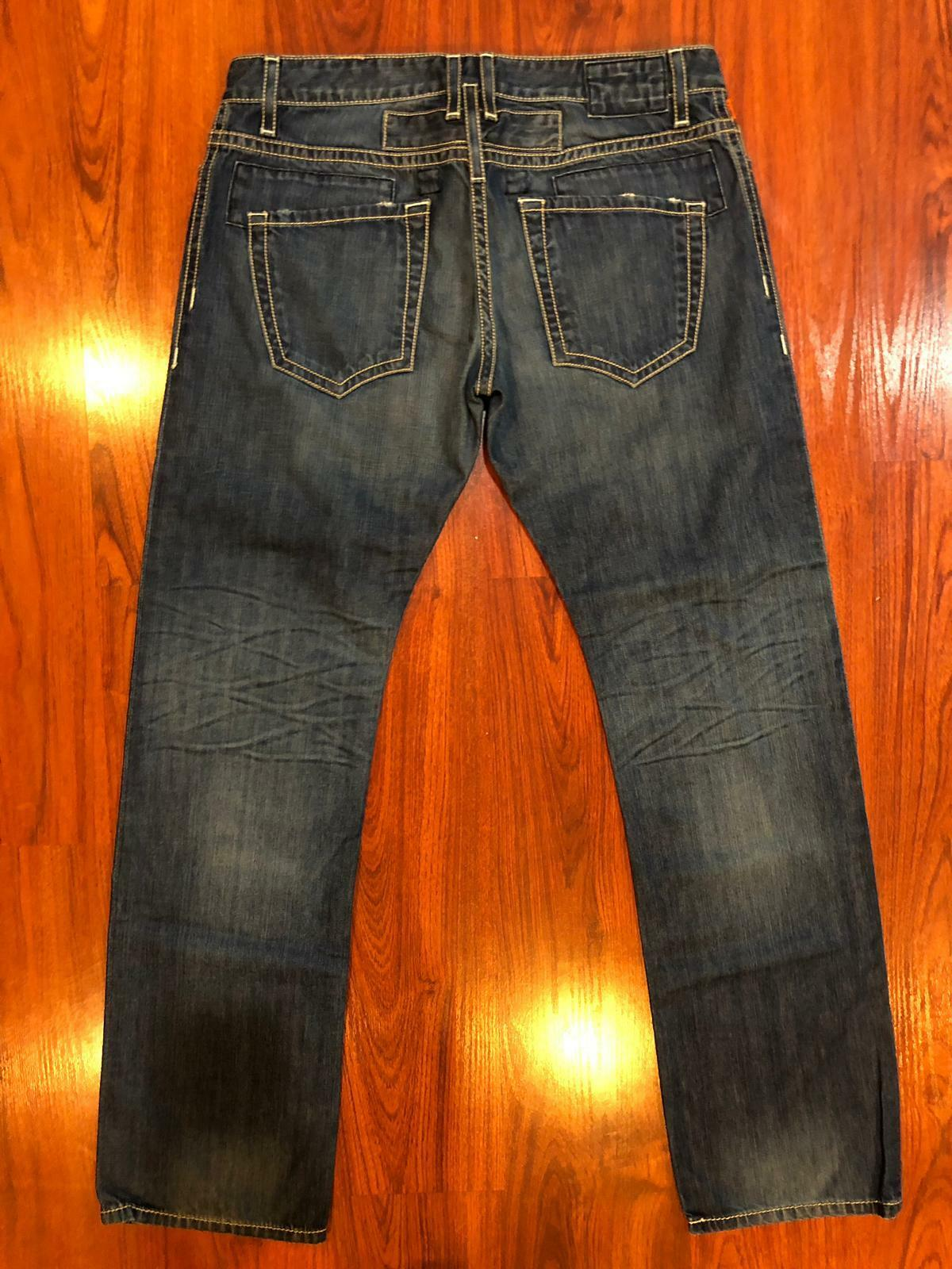 NEW Authentic Robin's Jeans Mens 38 D5957 Straight Leg Classic Light Distressed