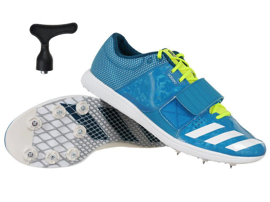 Adidas Adizero atleta Entrenadores Zapatos picos de triple salto salto con pértiga