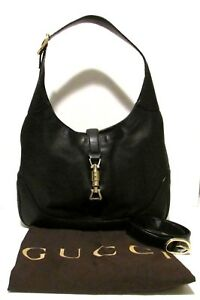 c874e61c0d1527 Image is loading Authentic-Vintage-GUCCI-Jackie-O-Hobo-Cross-Body-