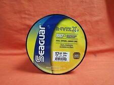 SEAGUAR InvizX 100% Fluorocarbon Fishing Line 17lb (1000yd) #00519 Clear