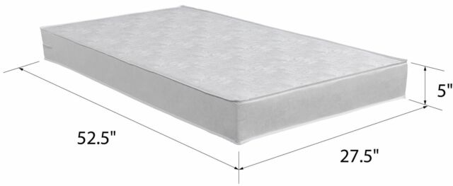new products 6a246 e792c Child Crib Mattress Firm Baby Toddler Waterproof Bed Infant Comfort  Mattresses
