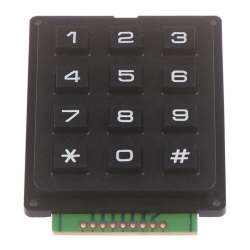12Key Membrane Switch Keypad 3 x 4 Matrix Keyboard Module Membrane Switch Key KQ