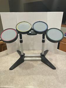 Rock Band Xbox 360 Harmonix Wired Drum Set Heads w/ Stand 822149 NO PEDAL/STICKS