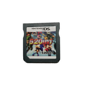 520 in 1 Game Cartridge Multicart For Nintendo DS NDS NDSL NDSi 2DS 3DS
