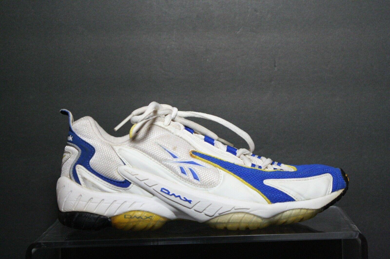 Reebok DMX 10 VTG OG Sneaker Multi bluee White Yellow Athletic Women 9 Training