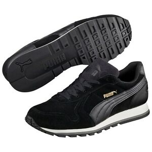 PUMA St Runner SD Sneaker Scarpe da ginnastica Suede Camoscio Nero 359128 01