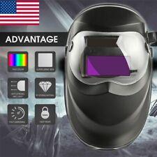 Solar Auto Darkening Welding Helmet Arc Tig Mig Mask Deep Welder Grinding Ne Us