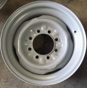 Ford F250 Pickup Factory Oem Steel Wheel Rim 1992 1997