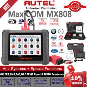 Details about Autel MaxiCOM MX808 MK808 OBD2 II Auto Car OBD2 Scanner Diagnostic Tool IMMO Key