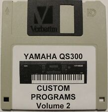 Yamaha QS300 Synthesizer Custom Programs Volume 2 Disk