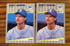 1989 Fleer Update U59 Randy Johnson RC - Mariners (2)