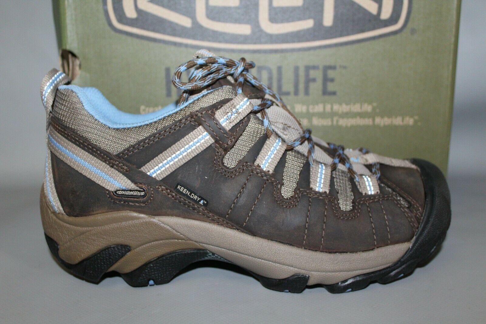 NEW Women's Keen Targhee II Leather Mid-Cut Hiking Boots   up to 42% off