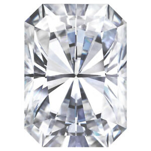 Moissanite-Radiant-Forever-One-Loose-VVS1-D-E-F-Color-Engagement-Free-Shipping
