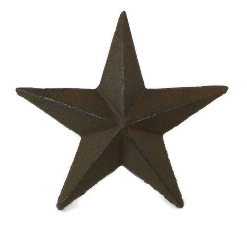 "5/"" Cast Iron Nail Stars Set of 12 Craft Western Decor Texas Lone Star"