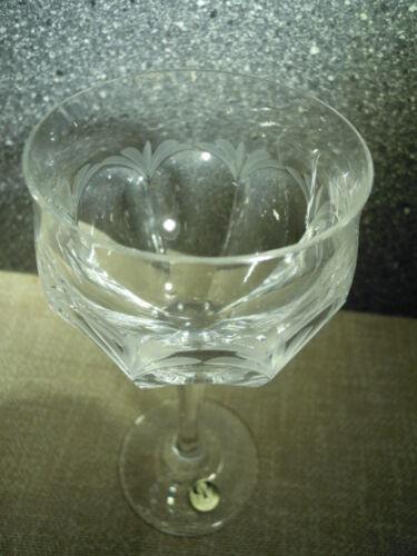 Peill Glasserie Diana, 24% Bleikristall, Einzelglas - neuwertig und unbenutzt