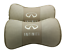 Fit For Infiniti Car 2Pcs Real Leather Car Seat Neck Cushion Pillow Car Headrest