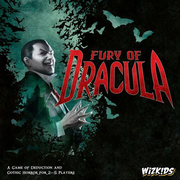 Wiz Kids: Fury of Dracula 4th Edition (New)