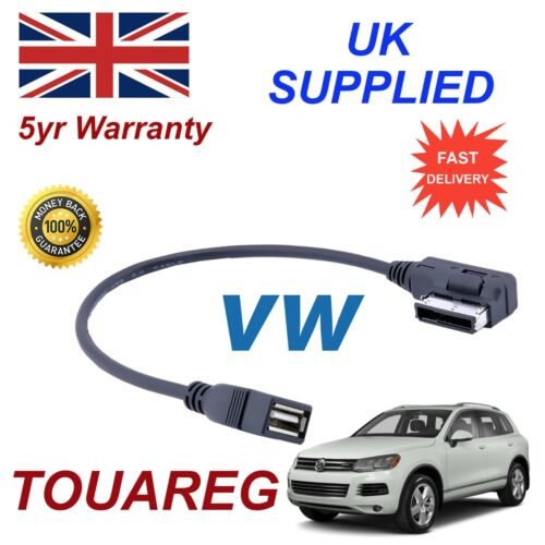 VW TOURAN Memory Stick USB audio cable MMI 000051446B 2009+