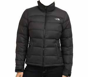 711092bce Details about 2015 WOMENS THE NORTH FACE NUPTSE 2 JACKET 700 GOOSE DOWN  BLACK L
