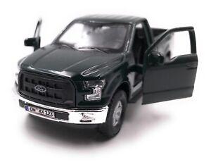 Ford-Maquette-de-Voiture-avec-Wunschkennzeichen-Raptor-F-150-Pick-Up-Truck-Vert