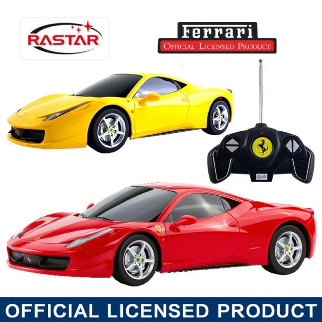 LICENSED 1:18 FERRARI 458 ITALIA RC RADIO REMOTE CONTROL ELECTRIC CAR TOY