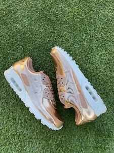 Details about Nike Air Max 90 SP Metallic Rose Gold Size 11M/12.5W