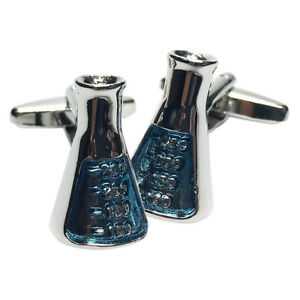 Chemists-Mixing-Flask-SCIENCE-CUFFLINKS-CHEMISTRY-TEACHER-PROF-BIRTHDAY-PRESENT
