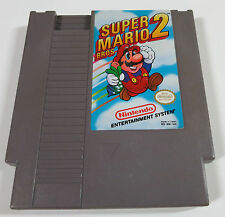 Super Mario Bros. 2 Nintendo NES cart only tested and working brothers