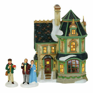 Dept 56 Dickens Village Home For Holidays Set of 3 Figurines 4059379