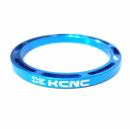 Made in Taiwan gobike88 KCNC Hollow Design Headset Spacer 668 Blue 3mm