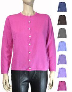 Liz-Baker-Petite-Basic-Crew-Neck-Long-Sleeve-Knit-Sweater-Cardigan-PS-PL